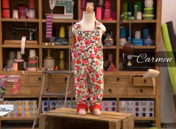 COUSU MAIN 5 - Vêtements d'enfants : coudre une salopette.