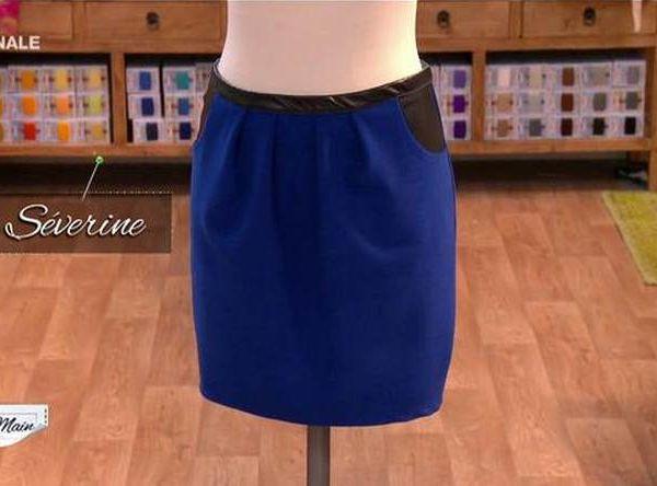 COUSU MAIN 8 - Finale : customiser une jupe évasée.