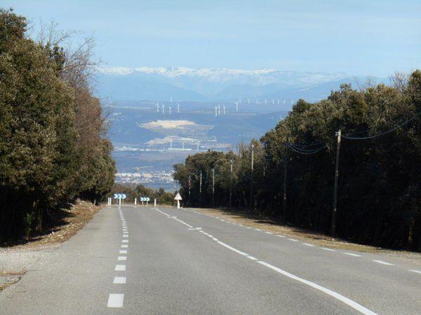 Et voilà c'est fini : il ne nous reste plus qu'à nous laisser glisser jusqu'à Bourg St Andéol.