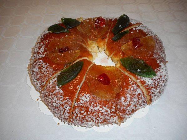 Gâteau des Rois - Vin rosé Pétillant - Galette : de quoi faire un bon goûter ...