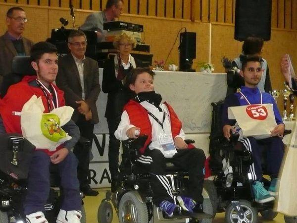 Dinan: 15 ans, champion de France de Sarbacane (handisport)