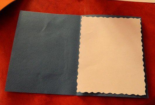 en haut l'intérieur d'une carte &#x3B; en bas l'enveloppe côtés recto et verso