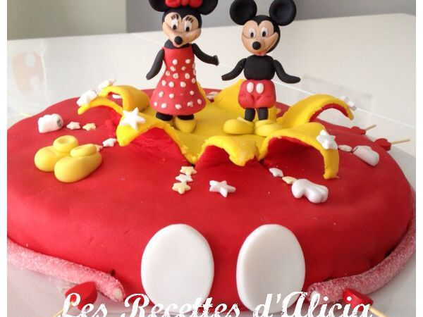 Gateau mickey minnie p te a sucre blogs de cuisine - Cuisine de minnie ...