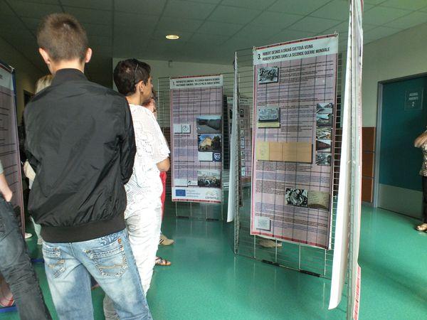 Film et exposition Robert Desnos au collège Guillaume Cale