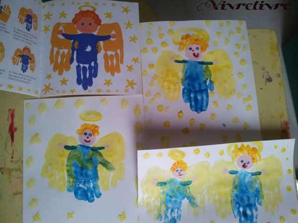Anges à la main