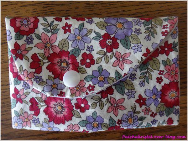 Cadeau pour Sophie - pochette avec noeud