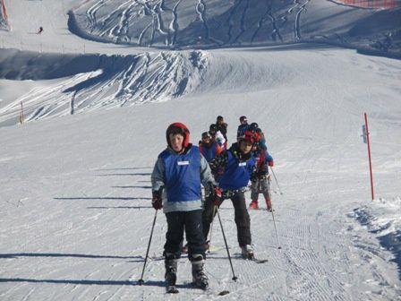 Lundi, 26 janvier : « Même si au ballon, on n'est pas champion… Sur les skis, on progresse sans souci. »