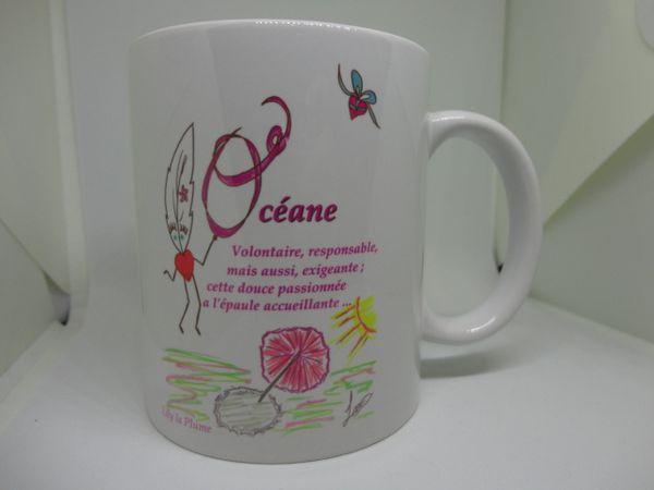 Les Mugs Prénom Lily la Plume