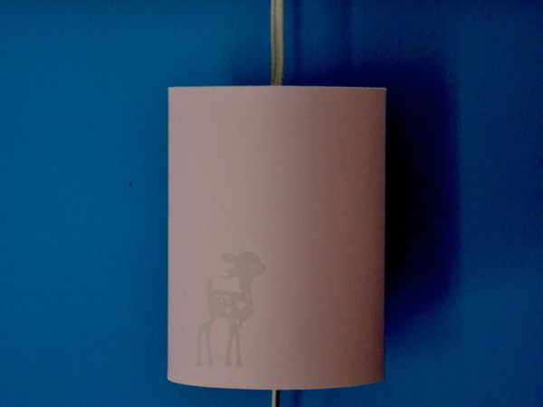 Petite suspension cylindrique BAMBI (15x15x20) 59€