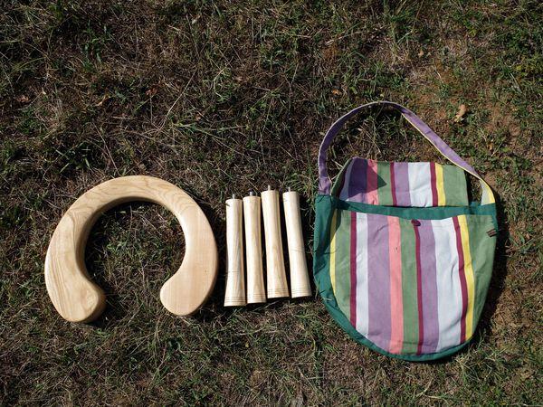 Tabouret d'accouchement / Baarkruk / Birth stool