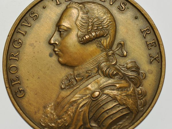GEORGE III : A GUIDE TO THE EXHIBITION OF ENGLISH MEDALS.