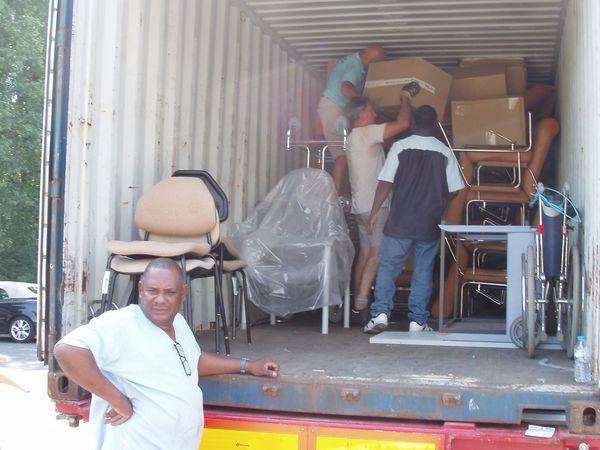 Deux containers de 40' pour la République Démocratique du Congo