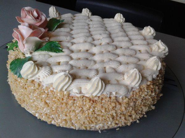 Gâteau aux noisette