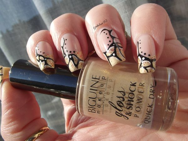 French marbré inspi Nailturally