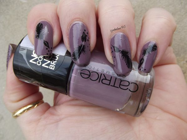 Nail plume d'encre WD Catrice