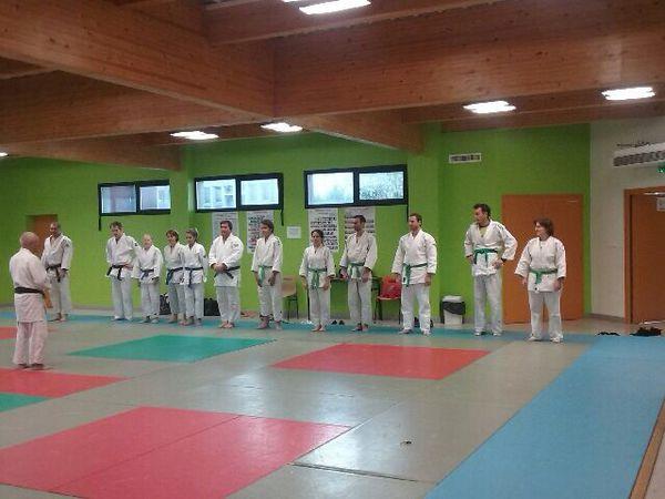 Stage de jujitsu à Bagnols judo