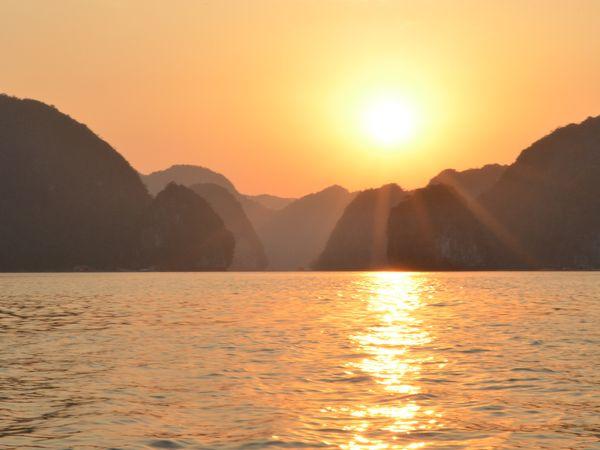 ah oui, on a aussi eu le droit à un magnifique sunset !