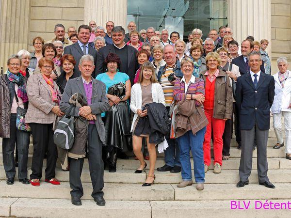 Mardi 7 Octobre 2014 : Visite de l'Assemblée Nationale et balade dans PARIS