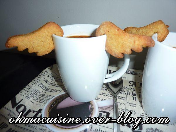Biscuits de tasse amande et chicorée