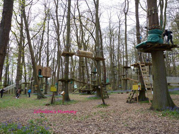 Le Sherwood Parc pour une journée d'aventuriers en pleine nature !