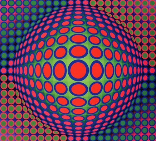Victor Vasarely - Op'Art