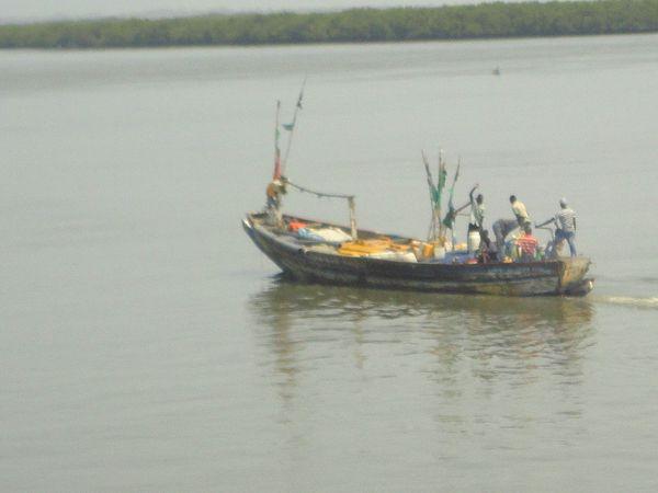 Bateau pour la Casamance...