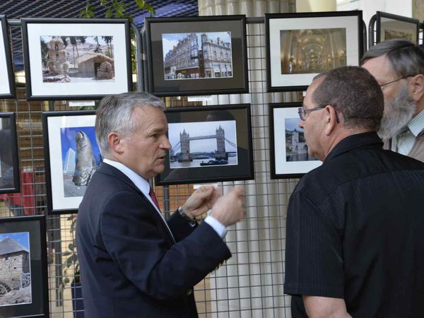 Vernissage expo photos au Centre Hôspitalier du Coudray