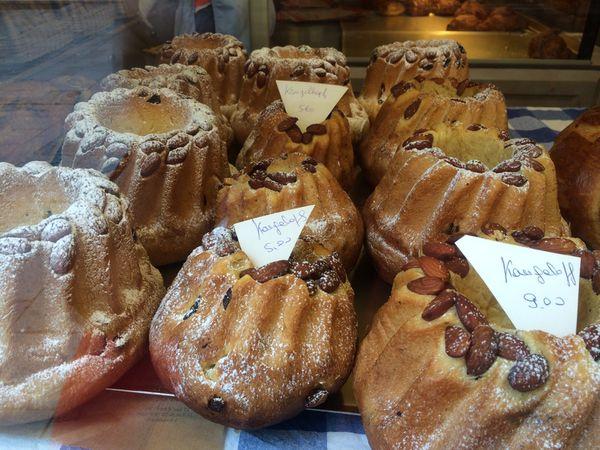 Vitrines de boulangeries à Strasbourg