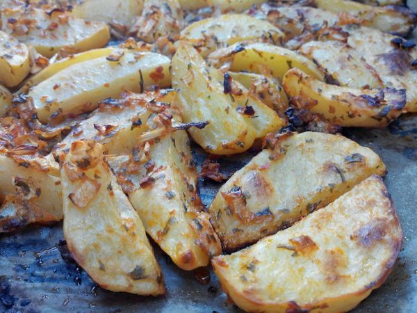 Pommes de terres Spicy by belle maman Malika