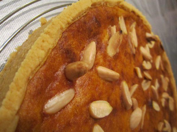 Quiche butternut et amandes/châtaignes