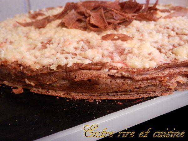 Gâteau de galettes de sarrazin Jambon/Ricotta