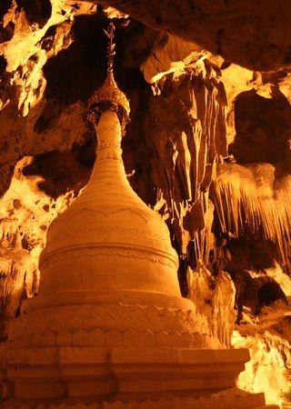 La Stupa à l'entrée