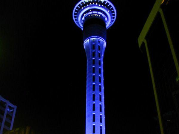 La Sky Tower, Auckland, SkyWalk et Sky Jump, Nouvelle Zélande