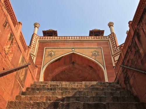 Le Tombeau de Humayun, Empereur Moghol, New Delhi, Indes