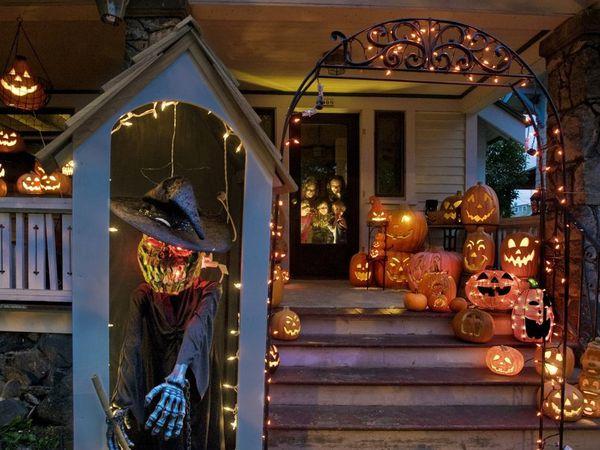 Halloween aux Etats-Unis,  Jack o' lantern, la légende