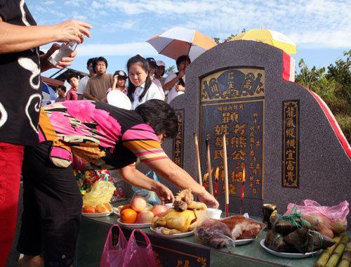 Qing Ming Festival, Tom Sweeping Day, Shangai, Chine