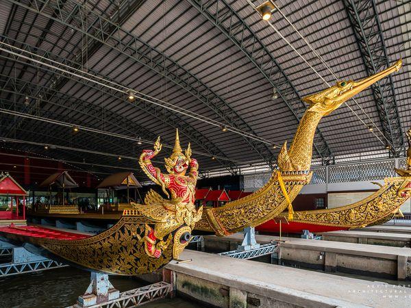 The royal Barges, les barques royales, Musée de Bangkok, Thaïlande