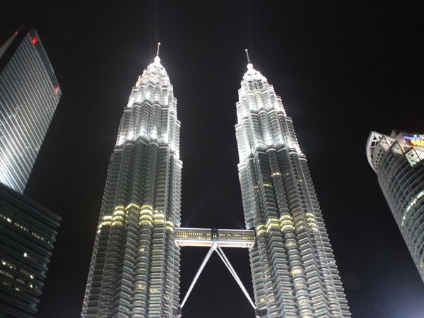 Les Tours Petronas, 452 mètres, Kuala Lumpur, Malaisie
