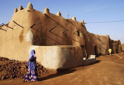 Historical Center of Agadez, Niger.