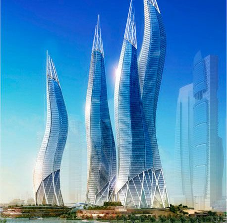 DUBAI TOWERS - TVS Architects
