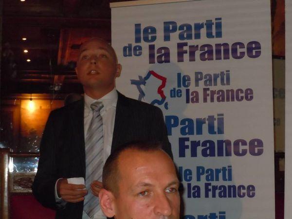 Compte-rendu du banquet d'automne du Parti de la France