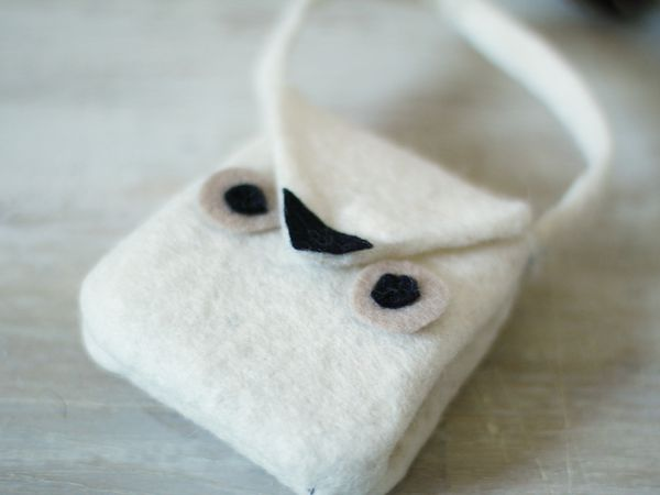 Mini sac chouette {DIY}
