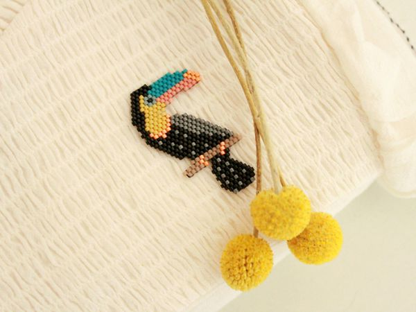 Toucan version 2017 (brick stitch)