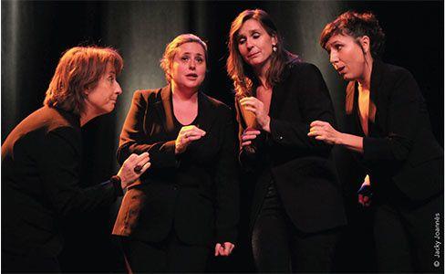 sanacore, un quatuor vocal a cappella composé de chants populaires italiens arrangés et de créations contemporaines