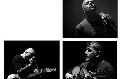 interzone trio, entre rock et musique proche-orientale avec serge tessot gay, khaled al jaramani et marc nammour