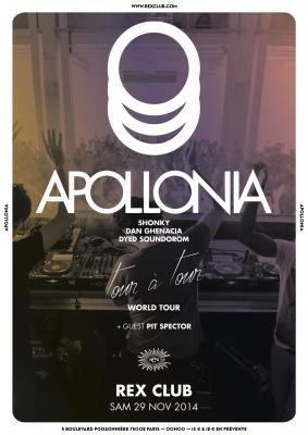 apollonia, issu de la culture house ce trio de dj français est devenu un mastodonte du clubbing international