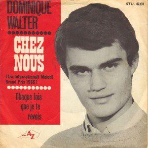 dominique walter, un chanteur français qui eut serge gainsbourg et michel polnareff comme compositeur