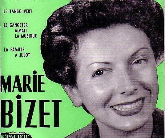 marie bizet, une chanteuse française qui s'impose au music-hall comme chanteuse fantaisiste et dans l'opérette &quot&#x3B;ignace&quot&#x3B; en duo avec fernandel