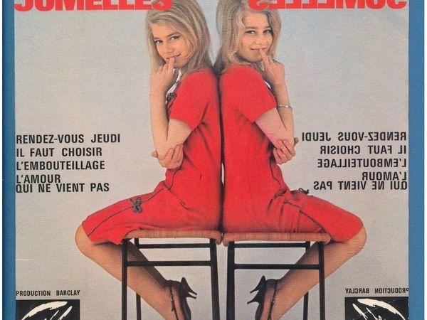 les jumelles, l'histoire authentique de 2 jumelles micheline et jacqueline présentées par roger frey et henri leproux