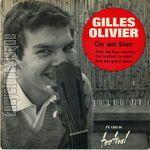 gilles olivier, un chanteur français qui débute au milieu des années 1960 doté d'une fort belle voix très recherchée